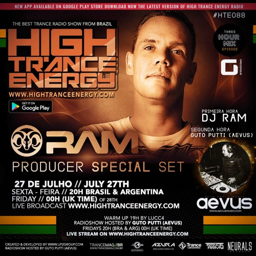 Guto Putti (Aevus) High Trance Energy 088 - Guest Mix By DJ Ram