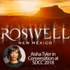 Reimagining Roswell Podcast Episode 4: Recap of Aisha Tyler's panel with cast and crew at SDCC