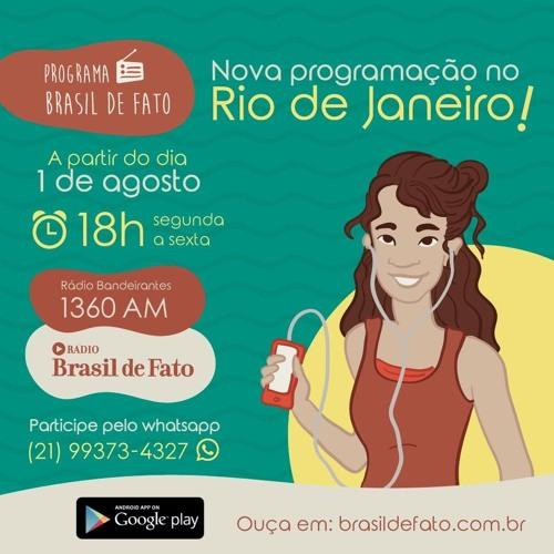Vem aí o novo programa diário Brasil de Fato RJ