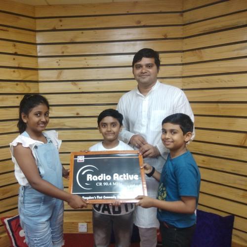 How Robotics Is Helping Children  - Eposide 2 (Hasvika S, Harshil Nair And Neel Angadi)