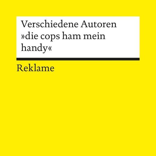 """""""die cops ham mein handy"""" Hörbuch-Sneak und Interview mit Lukas Adolphi auf Radio Fritz / RBB"""