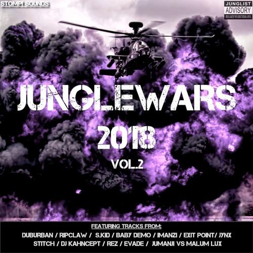 JUNGLEWARS 2018 VOL.2 2018 [LP]