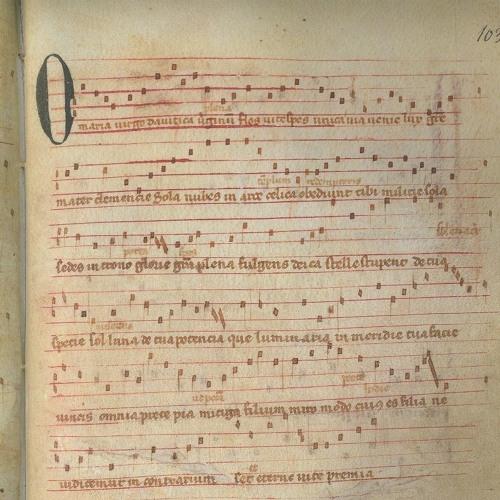 O Maria Virgo Davitica / O Maria Maris Stella - Codex Las Huelgas