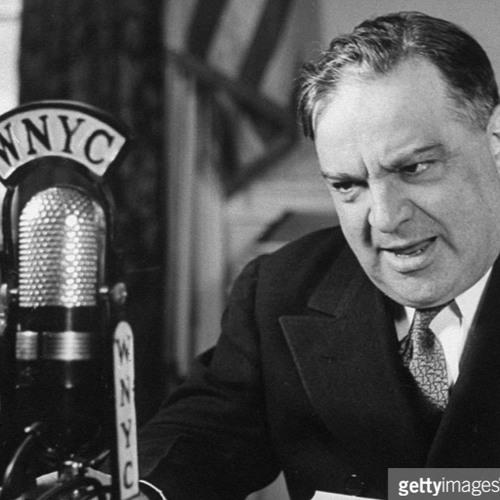 New York City Mayor Fiorello LaGuardia reads Dick Tracy on Radio—7.1945