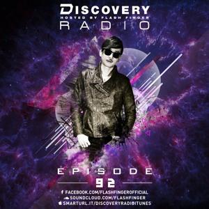 Flash Finger & Moevv - Discovery Radio 092 2018-07-30 Artwork
