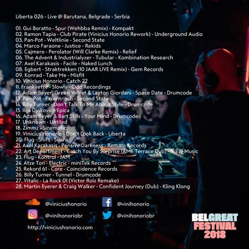 Liberta Radio 026 - Live @ Barutana, Belgrade - Serbia