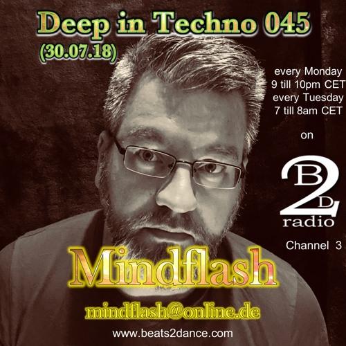Deep in Techno 045 (30.07.18)