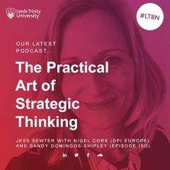 The Practical Art Of Strategic Thinking - with Nigel Cork and Sandy Domingos-Shipley