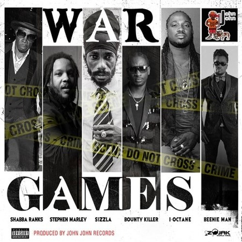 Stephen Marly Ft Shabba Ranks  bounty killer I-octane Beenie Man- War Games