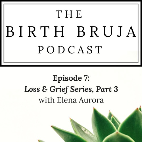 Ep. 7, Loss & Grief Series Pt. 3 With Elena Aurora