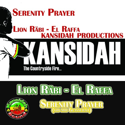"Lion Räbi - ""Serenity Prayer"" (Gib mir Glassehäit) (Kansidah Productions)"