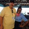 Moose talks with Ariel Gorden of the Sandals Foundation