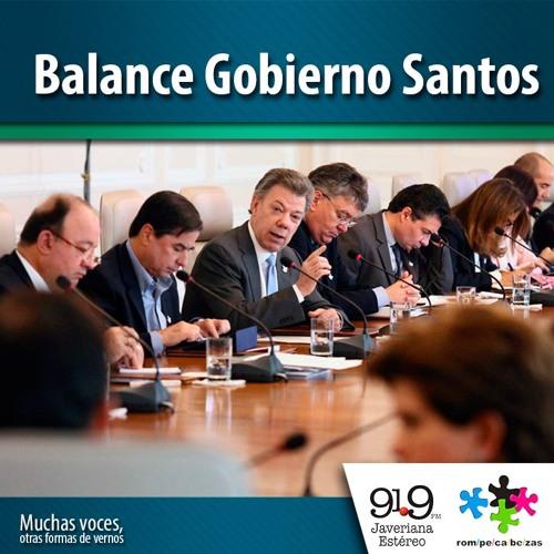 Balance Gobierno Santos