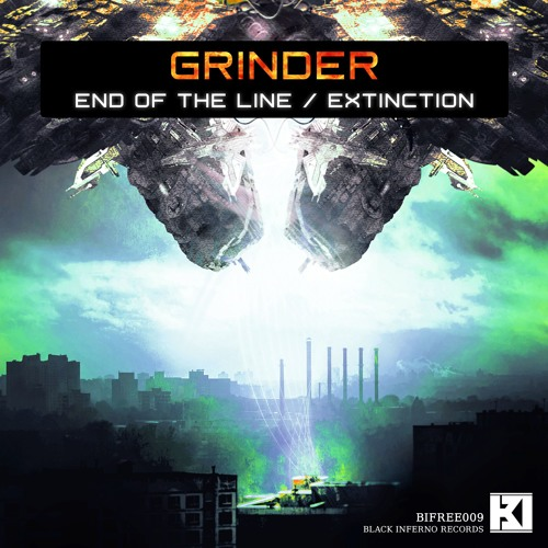 Grinder - End of the Line / Extinction (EP) 2018