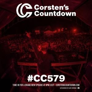 Ferry Corsten - Corsten's Countdown 579 2018-08-01 Artwork