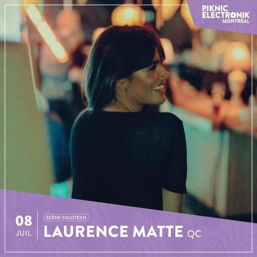 Laurence Matte Live @ Piknic Electronik 08.07.2018