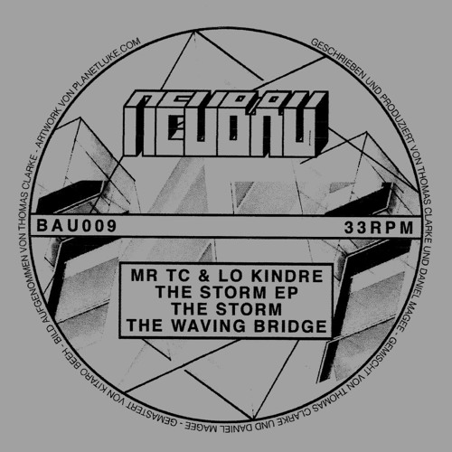 MR TC & Lo Kindre - The Storm EP - BAU009