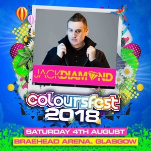 Jack Diamond @ Coloursfest Glasgow 2018-08-04 Artwork