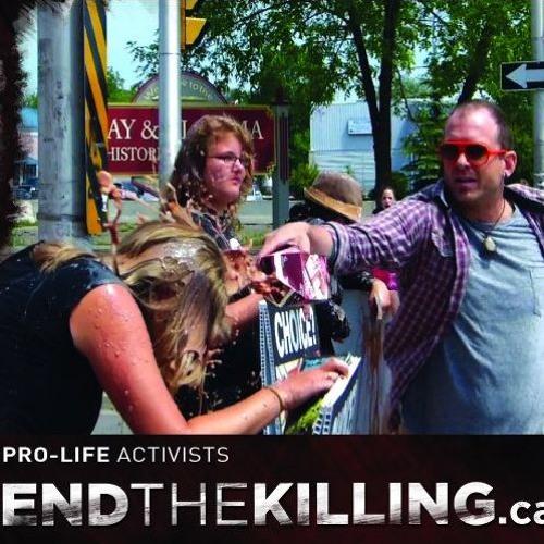Jonathon Van Maren on the violence pro-life activists face on the streets