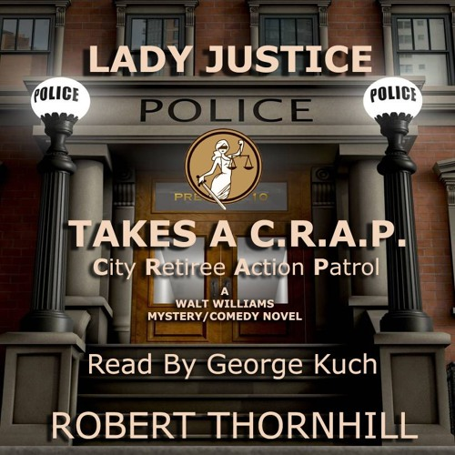 Lady Justice Takes A CRAP - Retail Sample