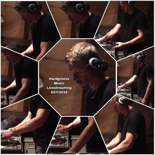Massie @ Facebook Livestreaming Hardgroove vinylmix # hot holiday groovy tunes 25 juli 2018