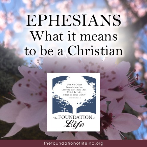 Ephesians - What it means to be a Christian  ~ August 2, 2018