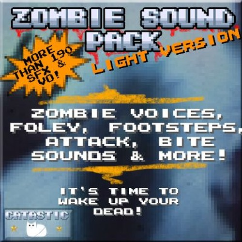 Zombie Horror Sound Pack - Light Version