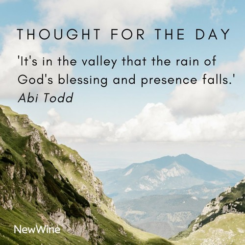 Thought For The Day - Abi Todd (3 August 2018)
