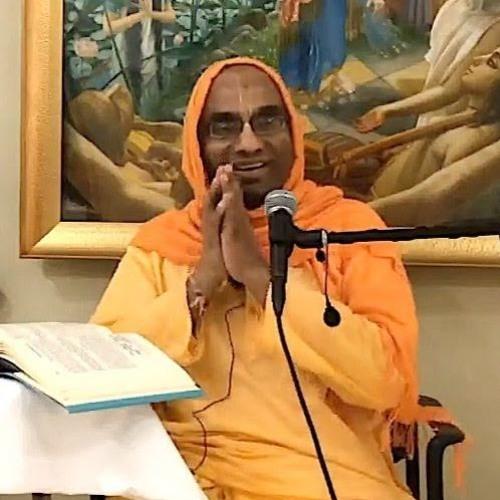 Srimad Bhagavatam class on Sat 4th Aug 2018 by Chaitanya Charan Dāsa 4.12.35