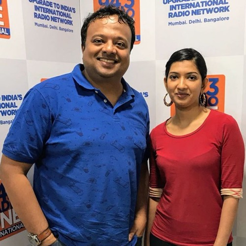Hrishi K with Anushka Shah-Researcher MIT MediaLab on 'Civic Studios' & 'MediaCloud' projects