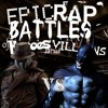 Batman vs Rorschach (by TKandMit)