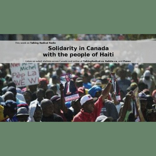 Solidarity in Canada with the people of Haiti