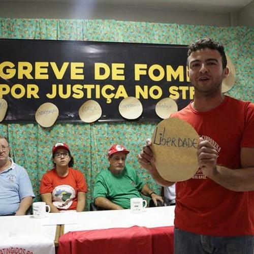 Integrantes da Caravana do Semiárido contra Fome visitam grevistas em Brasília
