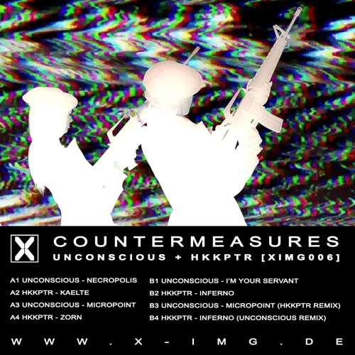 UNCONSCIOUS & HKKPTR: COUNTERMEASURES [XIMG006] *PREVIEWS*