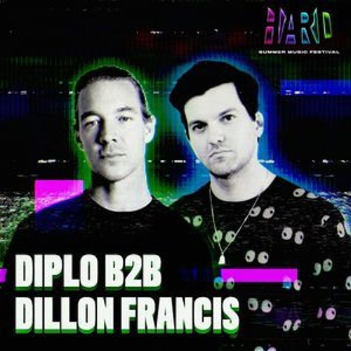 Diplo X Dillon Francis LIVE @ HARD Stage Hard Summer