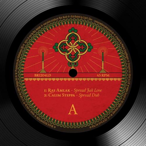 Calim Steppa / Violinbwoy ft. Ras Amlak - Spread Jah Love [BR1204LD]