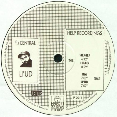 HELP011 · DJ Central · Li'ud EP (Previews)