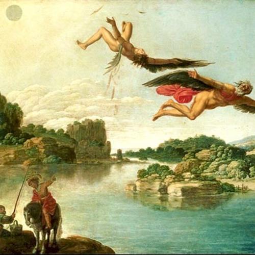 Verwandlungen: Dädalus und Icarus (Ovid, 1 n.Chr.)