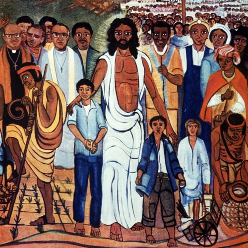 God is with poor people: Liberation theology's challenge to this world.
