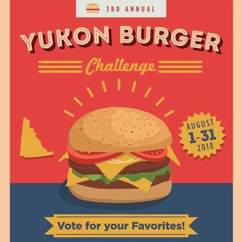 The 3rd annual Yukon Burger Challenge has begun