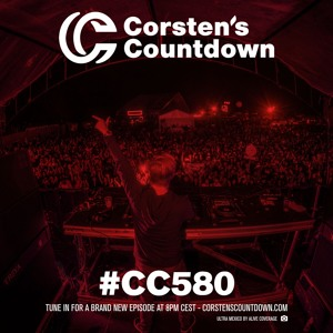 Ferry Corsten - Corsten's Countdown 580 2018-08-08 Artwork