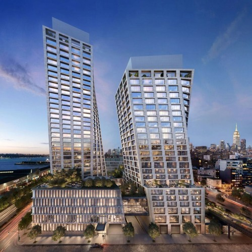 New Renderings, Photos of Striking New NYC Development