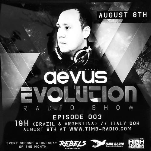 Guto Putti (AEVUS) EVOLUTION 003 - Radioshow - 2 hour mix