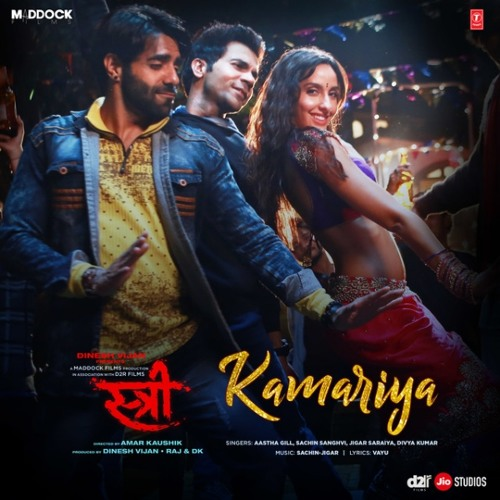 Kamariya From Stree Aastha Gill Full Song Listen Online And