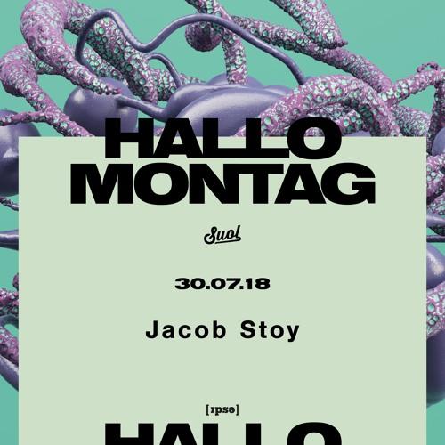 Jacob Stoy @ Hallo Montag Open Air #14 (30.07.2018)