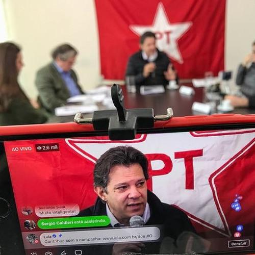 Em conversa com mídia alternativa, Haddad defende democratização das comunicações
