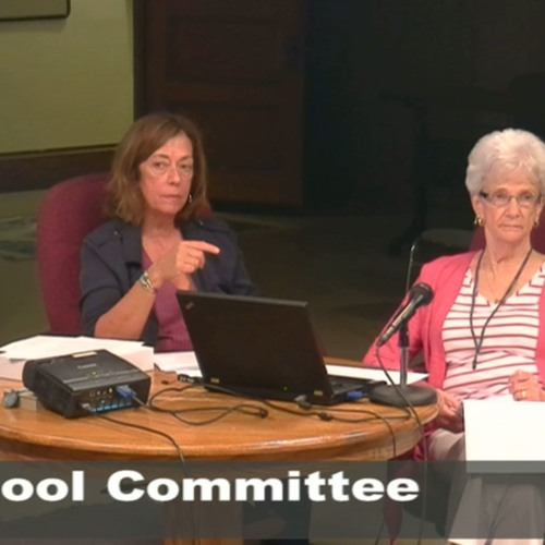 Greenfield School Committee Meeting August 8, 2018
