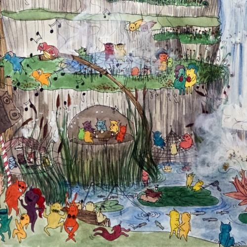 """Barfu Kosmo"" by Everybodys Garden"