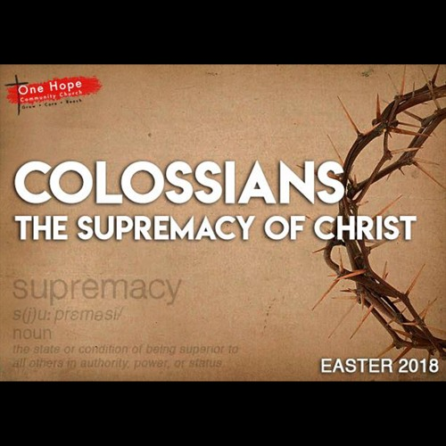 The Supremacy of Christ: Walk in a Manner - Joel Poppenbeck