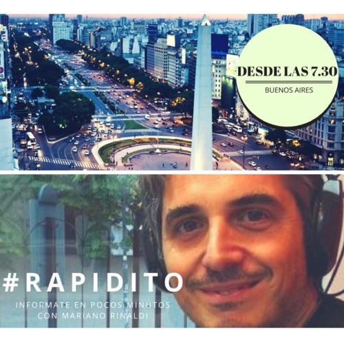 #RAPIDITO -Viernes 10 de Agosto 2018